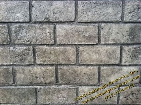 running brick pattern running bond used brick sted concrete hanover pa carbaugh concrete contractor hanover pa