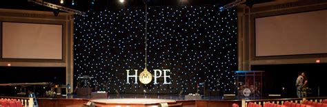 dangling hope church stage design ideas scenic sets