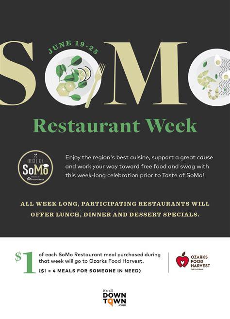 Central Missouri Food Pantry by Somo Restaurant Week And Taste Of Somo 2017 Ozarks Food