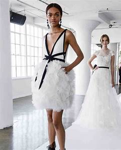 21 unique wedding dresses ideas for brides who dont want With short black wedding dresses