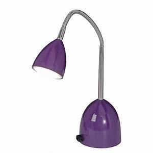 Günstig Lampen Online Kaufen : led tischleuchte oskar metall violett n ve g nstig online kaufen ~ Bigdaddyawards.com Haus und Dekorationen