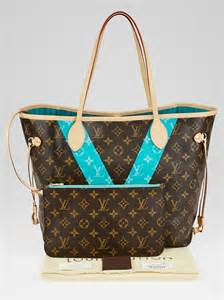 louis vuitton limited edition turquoise monogram
