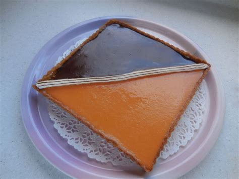 id馥 cuisine facile cuisine facile com tarte bicolore chocolat orange
