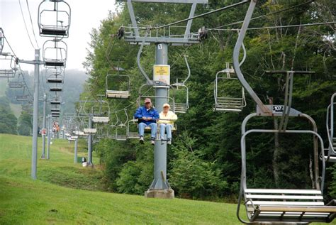 summer ski lift rides in boone sugar beech mountain