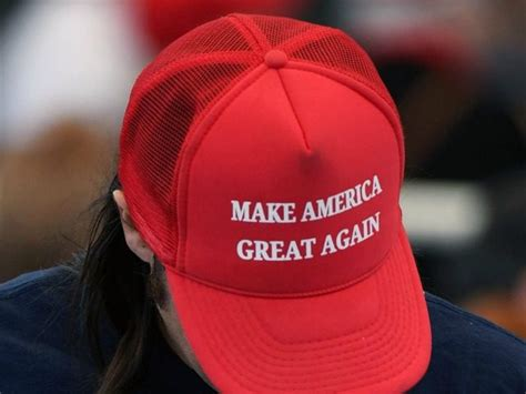 maga hats bring out ugly behavior
