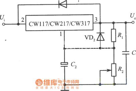 Standard Adjustable Integrated Voltage Regulator Circuit
