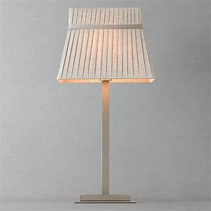 Buy john lewis audrey square shade table lamp taupe for Table lamp shades john lewis