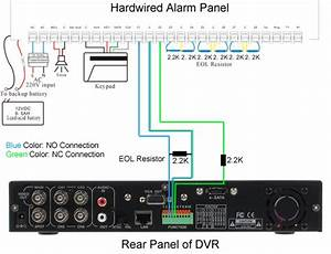 How To Connect Dvr To Alarm Systems
