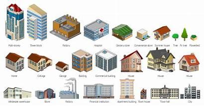 Buildings Vector Building Clip Rise Clipart Elements