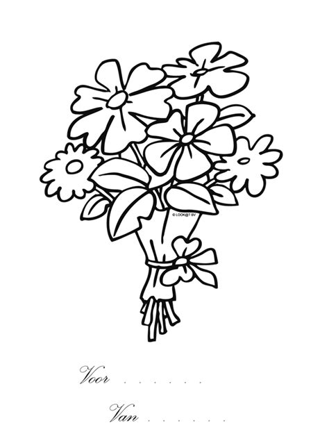 Kleurplaat Juf Valentijn by Kleurplaat Hart Valentijn Moederdag Vaderdag