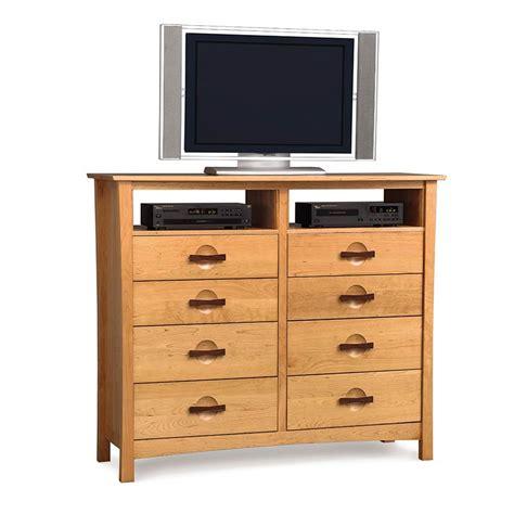 dresser with tv mount copeland berkeley 8 drawer dresser vermont woods studios
