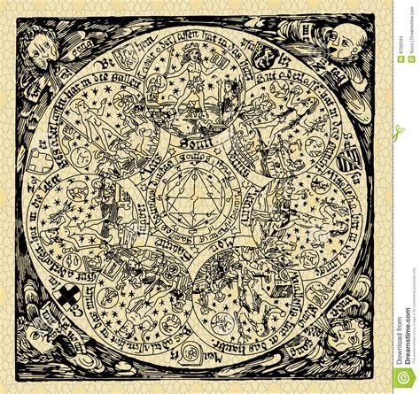 planetas mapa velho imagens de stock imagem