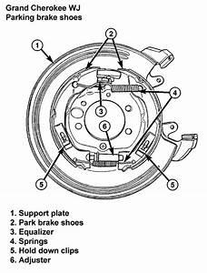Wj 1999 Parking Brake Adjustment