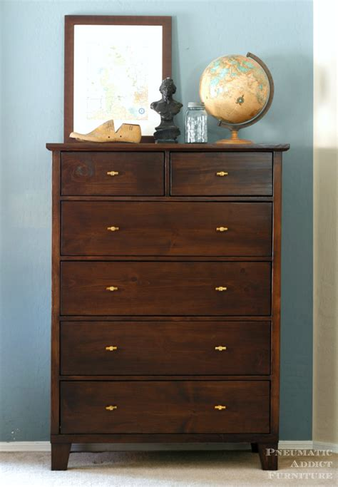 Tall Dresser With Tapered Legs  Her Tool Belt