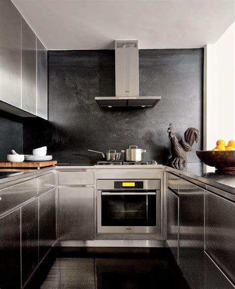 cuisine noir et inox cuisine noir et inox divers besoins de cuisine