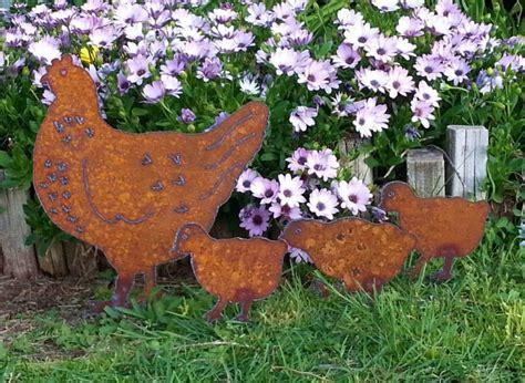 Gartendeko Rost Und Holz by 46 Ideen F 252 R Gartendeko Rost Da Die Natur Am Besten