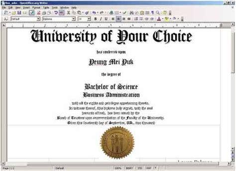 free printable college diploma diploma