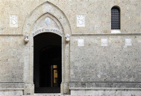 Sede Monte Dei Paschi Di Siena Mps Monte Dei Paschi Di Siena Ecco Cosa Sta Succedendo