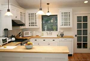 Pictures of kitchens traditional white kitchen for Kitchen cabinet trends 2018 combined with cheap 3 piece canvas wall art