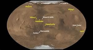 Mars Landings – The Center for Planetary Science