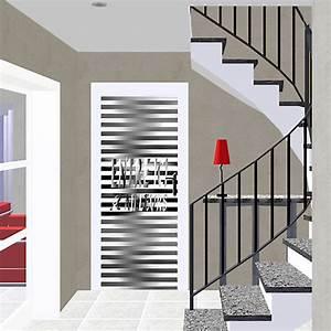 Decoration De Porte : d co murale portes entre ici et ailleurs noir blanc porte ~ Teatrodelosmanantiales.com Idées de Décoration