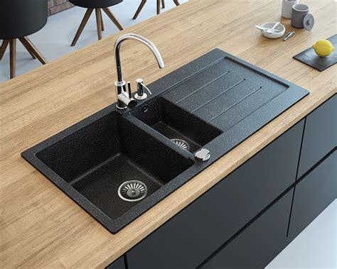 Ideas For Small Kitchen - zlewozmywak granitowy 1 5 komorowy z ociekaczem decoro 1 5b zlewozmywaki granitowe 1 5