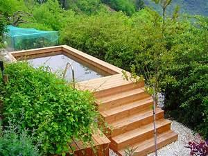 Piscine Hors Sol : fabricant de piscines hors sol 100 bois et sur mesure ~ Melissatoandfro.com Idées de Décoration