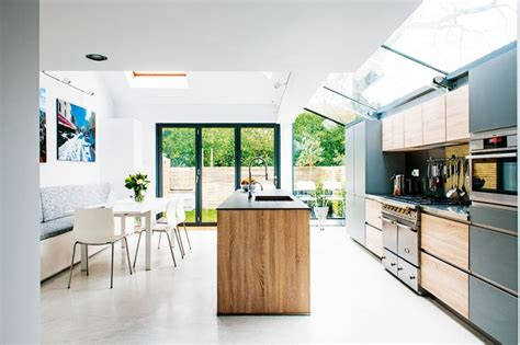 kitchen extension roof designs real home a glazed roof kitchen extension real homes 4747