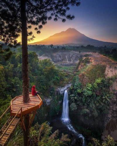 keindahan alam  cerita mistis  air terjun kedung