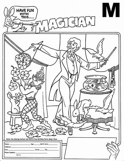 Magician Coloring Designlooter Contest 47kb 1278 2472