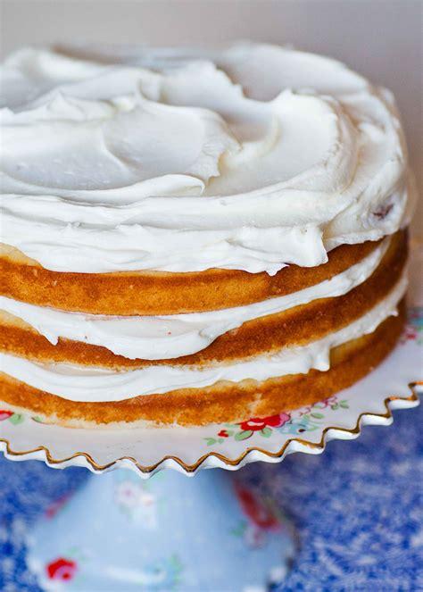 easy vanilla cake recipe video tatyanas everyday food