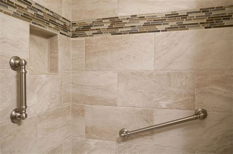 12x24 Bathroom Tile by Safety Is Important At Any Age The Grab Bars Used In This
