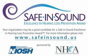 NIOSH and NHCA present 2015 Safe-in-Sound Excellence in ...