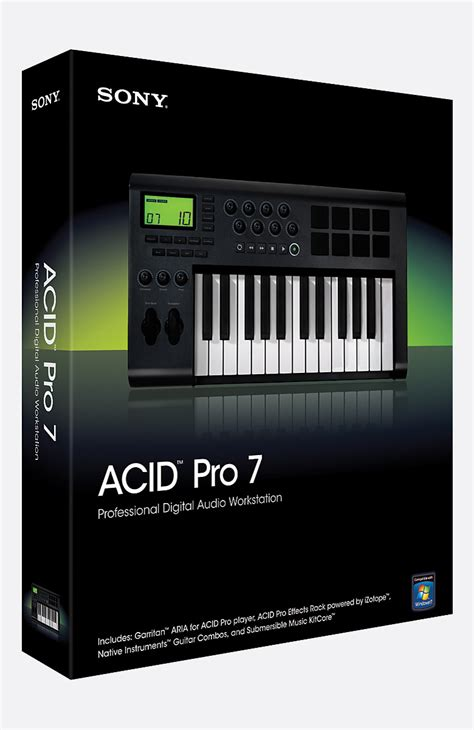 Midi For Pc by Sony Acid Pro 7 0 Software Multitracking Editing Midi