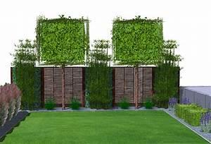 die hecke am laufenden meter zaun pflanzen oder hecke With garten planen mit balkon sichtschutz pvc befestigen