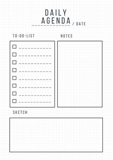 daily planner templates canva