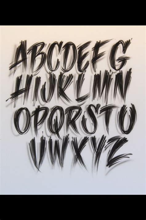 tattoo lettering fonts ideas  pinterest