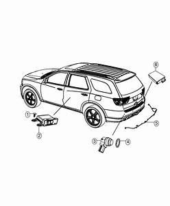 Dodge Durango Sensor  Blind Spot Detection