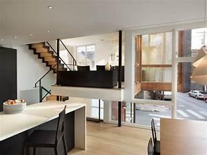 Split Level Haus Grundriss : split level house minimalistisch k che philadelphia von mccoubrey overholser inc ~ Markanthonyermac.com Haus und Dekorationen