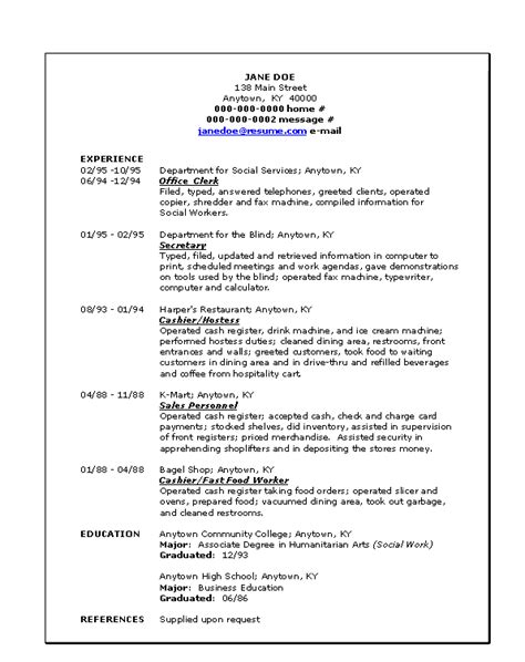 Chronological Resumes Definition by Doc 578818 Define Cv Resumes Template Bizdoska