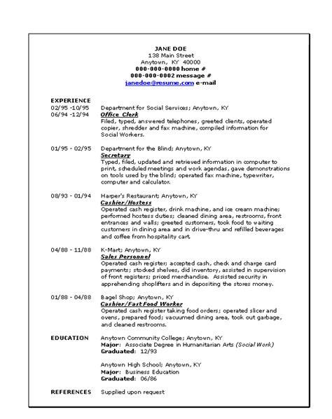 Define Chronological Resume by Doc 578818 Define Cv Resumes Template Bizdoska