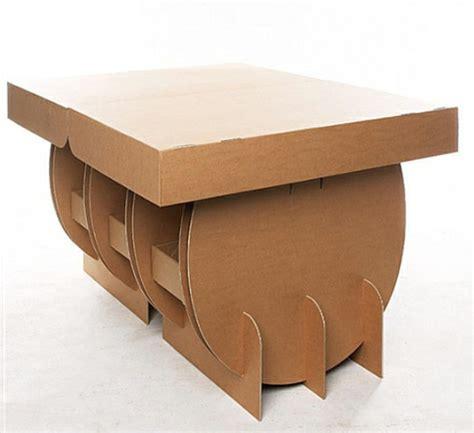 möbel aus pappe bauanleitung basteln mit karton 29 originelle ideen