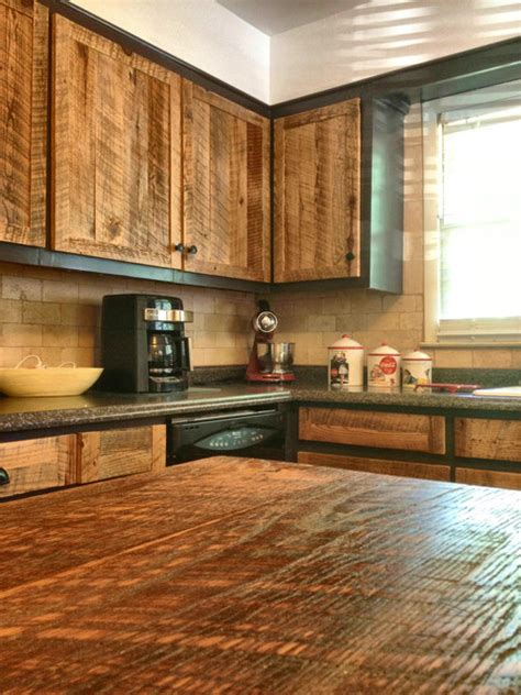 cabinet doors rustic kitchen atlanta   rusted
