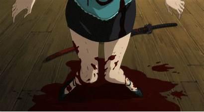 Anime Blood Gore Gifs Sad Gruesome Como