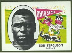 Bob Ferguson 1961 NuCard #101 Vintage Football Card