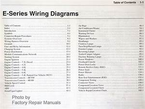 2002 Ford Econoline Van Wagon E150 E250 E350 E450 Electrical Wiring Diagrams