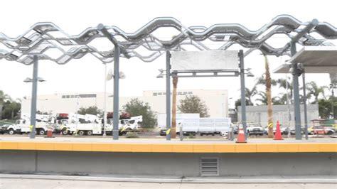 Santa Light Rail by Santa Expo Light Rail Line