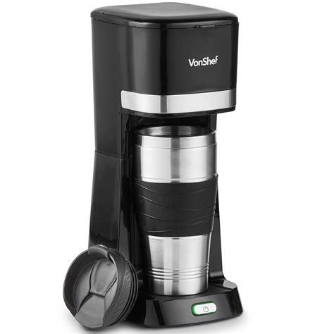 By drinkpod (2) programmable espresso machine. VonShef One Cup Personal Coffee Maker Single Serve Black 14oz 650W 691038778032 | eBay