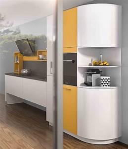 Colonne D Angle Cuisine : des meubles arrondis pour votre cuisine quip e i mobalpa ~ Teatrodelosmanantiales.com Idées de Décoration