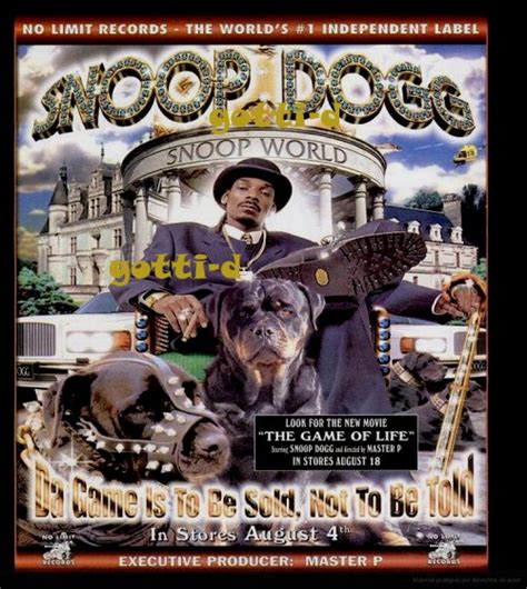 snoop dogg da game    sold    told gotti